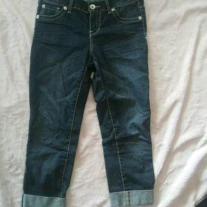 Torrid crop jeans size 14